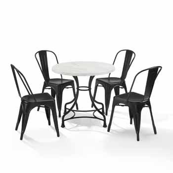 "Display 2 - 32"" 5-Piece Amelia Chairs"