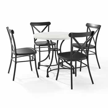"""Lifestyle - 32"""" 5-Piece Camille Chairs"""