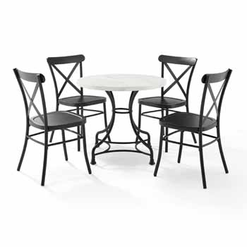 """Display - 32"""" 5-Piece Camille Chairs"""