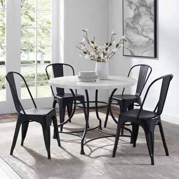 "Lifestyle - 40"" 5-Piece Amelia Chairs"