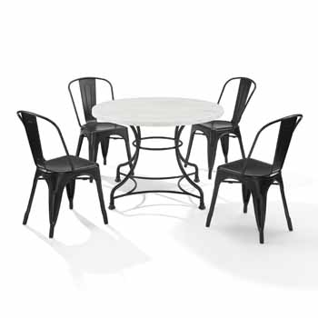 "Display 1 - 40"" 5-Piece Amelia Chairs"