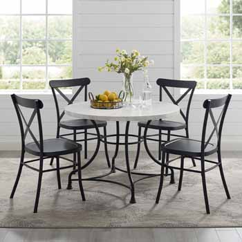 """Lifestyle - 40"""" 5-Piece Camille Chairs"""