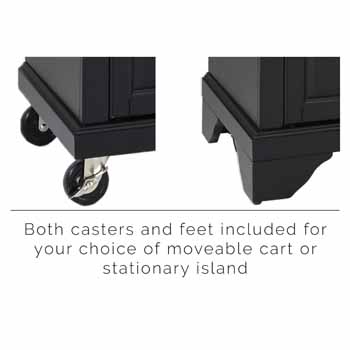 Black - Casters and Feet