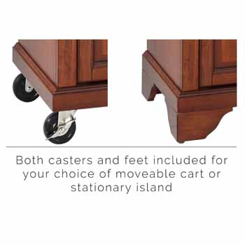 Cherry - Casters and Feet