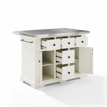 Crosley Furniture Kitchen Island Open KitchenSource