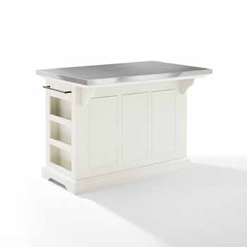 Crosley Furniture Kitchen Island Back KitchenSource