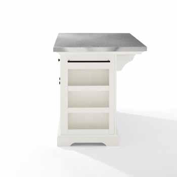 Crosley Furniture Kitchen Island Side KitchenSource