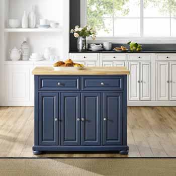 Crosley Furniture Kitchen Island Island KitchenSource