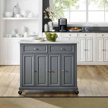 Crosley Furniture Kitchen Island Cart KitchenSource