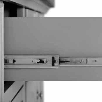 Satinless Steel Top Gray Base & Gray Stools