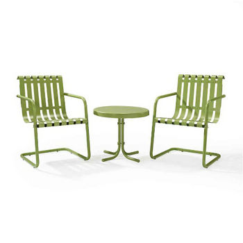 Crosley Furniture 3-Piece Oasis Green