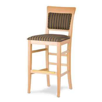 Cambridge - Remy Bar Stool with Upholstered Seat