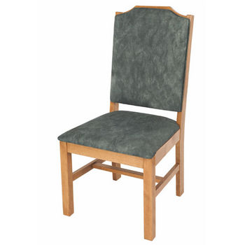 Cambridge Statesman Side Chair w/ Upholstered Seat