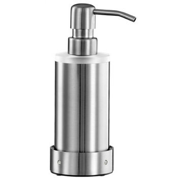 Cool-Line Crystal Steel Collection Stainless Steel Bathroom Counter Top Soap/Lotion Dispenser