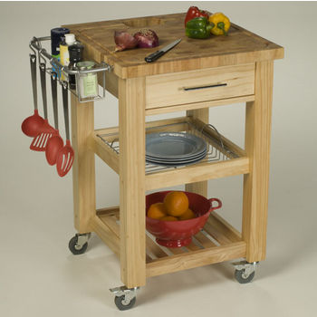 Pro Chef 23 3 4 W Food Prep Station In Natural Espresso Or White By Chris Chris Kitchensource Com