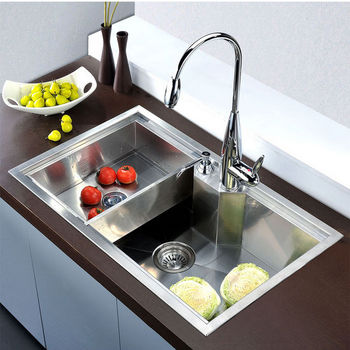 Dawn Sinks Undermount Square Single Bowl Kitchen Sink 18 Gauge Satin 30 3 4 W X 18 7 8 D X 9 1 2 H Kitchensource Com