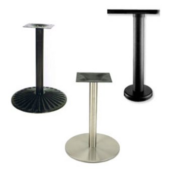 Disc Table Bases