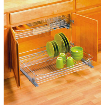 Pullout Tables, Dishware Organizers