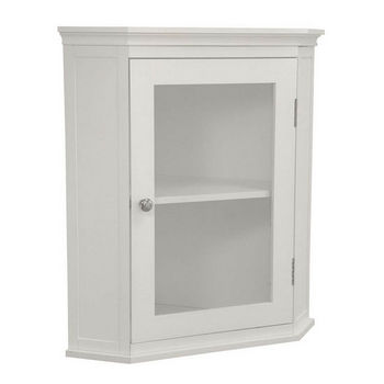 Corner Mount Medicine Cabinets. Lighted Medicine Cabinets With Top Lights or Side Lights in a