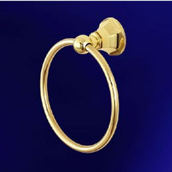 Empire Regent Polished Brass Towel Ring