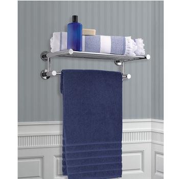 Hotel Shelf w/ Towel Bar