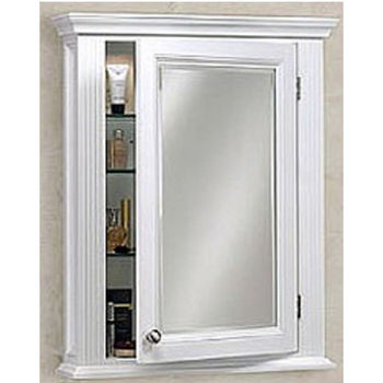 Empire Newport Collection Cinnamon Framed Semi Recessed Medicine Cabinet 25 9 W X 5 D 32 7 H