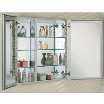 Medicine Cabinets Broadway Double Door Recessed Medicine Cabinet