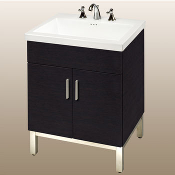 Bathroom Vanities Daytona 24 Vanity With 2 Doors And Polished Or Satin Hardware By Empire Industries Kitchensource Com