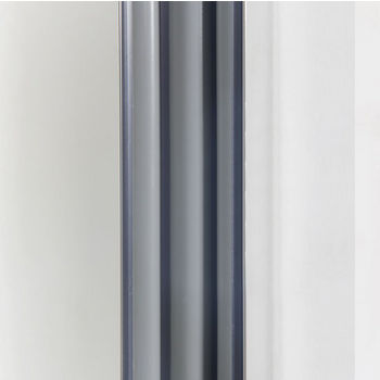 """Empire Elite 10mm (3/8"""") Thick Clear Tempered Glass Clean Line Design Shower Doors Enclosure, Fits Wall Opening: 56"""" to 60"""""""