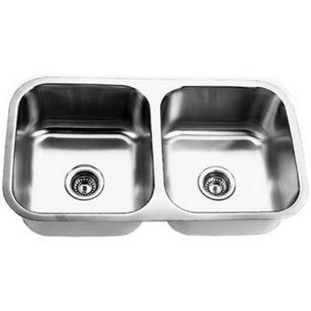 Empire SP-9 Undermount Double Bowl Sink