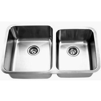 Empire SP-15 Undermount Double Bowl Sink