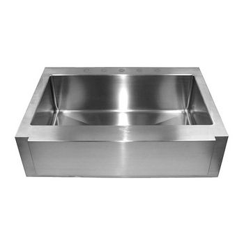 "Empire Everest Single Bowl Farm Sink 36"" W"