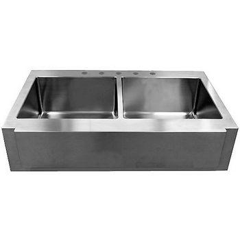 Empire Everest Double Bowl Farm Sink