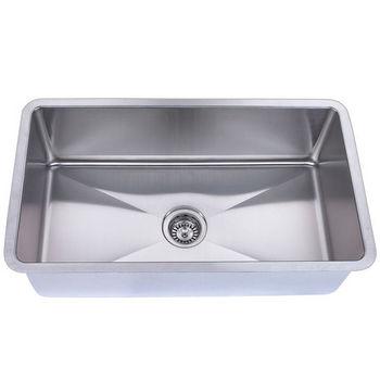 Empire Atlas Stainless Steel Undermount Single Bowl Kitchen Sink