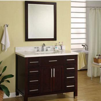 bathroom design wonderful uba tuba granite for kitchen or.htm bathroom vanities 42   monaco collection vanity in dark cherry  bathroom vanities 42   monaco