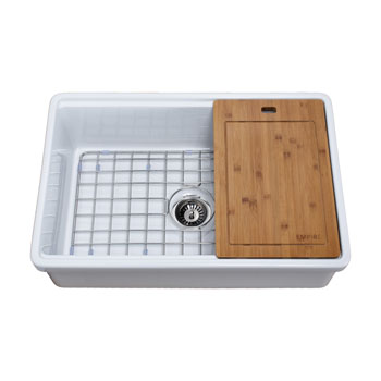 30'' Sink Complete with Included Items