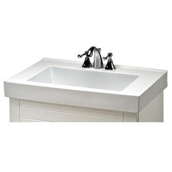 Villa Ceramic Sink In White
