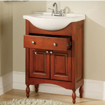 "Empire Windsor 30"" Bathroom Vanity with Cognac Finish"