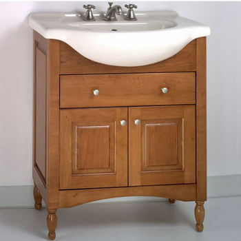 "Empire Windsor 30"" Light Cherry Bathroom Vanity"