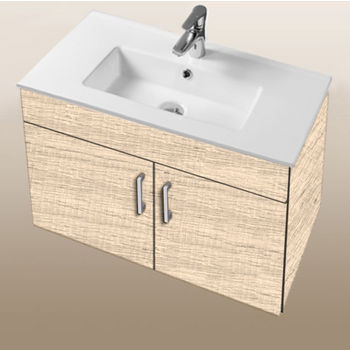 """Empire Industries Daytona Collection 30"""" Wall Hung 2-Door Bathroom Vanity in Moroccan Sand with Polished or Satin Hardware"""