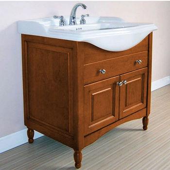 """Empire Windsor 31"""" Extra Deep Solid Wood Bathroom Vanity in Light Cherry"""