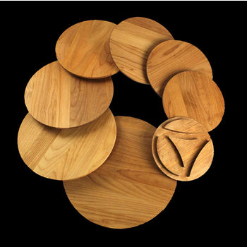 Enclume Premier Collection 8-Piece Alder Wood Board Set for EN-CWS8