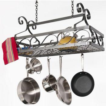 Rectangular Hanging Basket Pot Rack DR17A Series