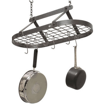 Classic Oval Pot Rack with Grid PR4 Series