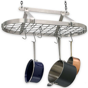 Oval Pot Rack with Grid DR4 Series