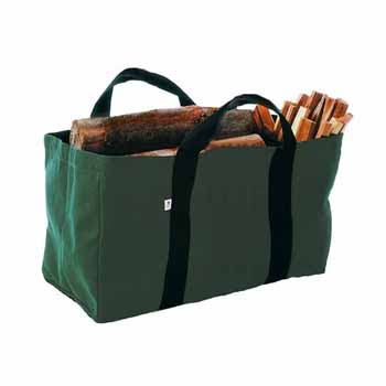 Enclume Premium Collection Log Carrier Bag Only, Green, 22-1/4''W x 11''D x 16''H