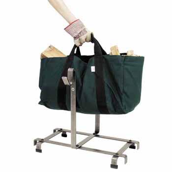 Log Rack with Bag