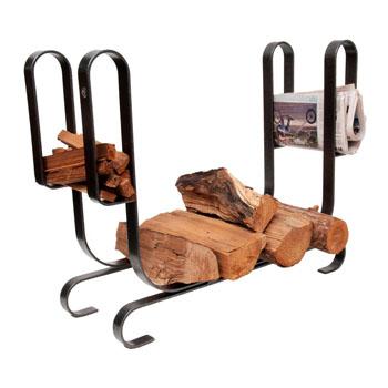 Large Modern Log Rack