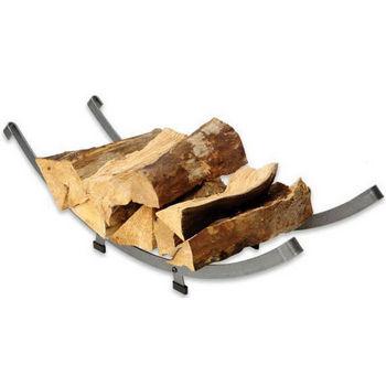 Arch Basket Log Rack