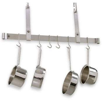 Ceiling Mounted Adjustable Bar Pot Rack PR11 Series